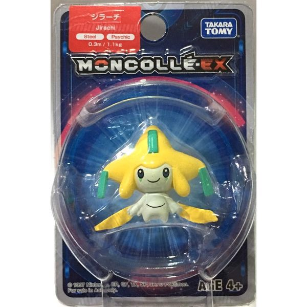 shop pokemon bán PCC-17 Jirachi Pokemon Moncolle-EX