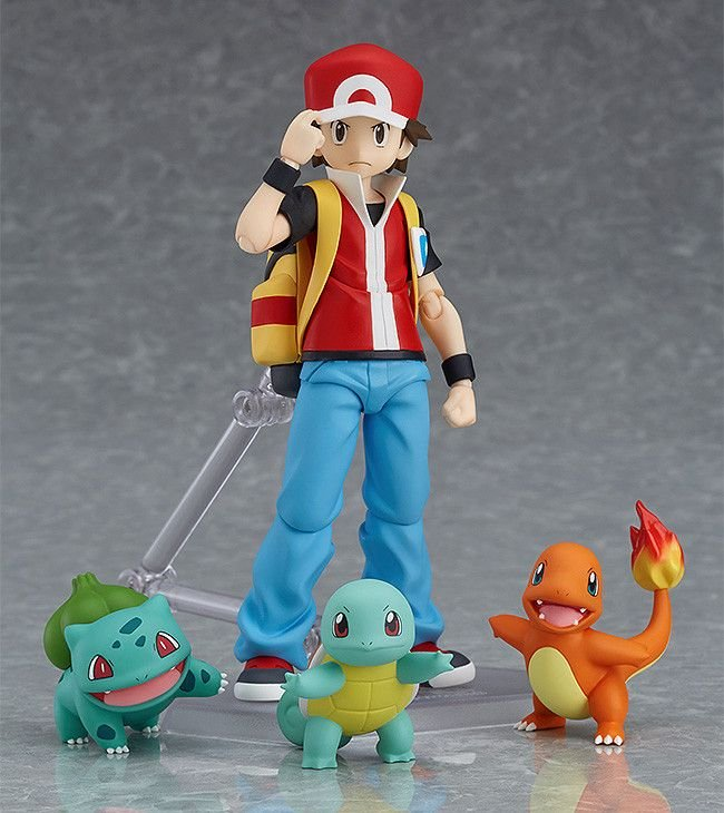 shop pokemon bán Red Action Figure Pokemon Figma 356