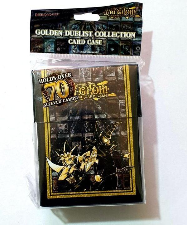shop yugioh bán hộp đựng bài Yugioh Golden Duelist Card Case