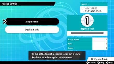 Single Battle và Double Battle trong Pokemon Sword and Shield