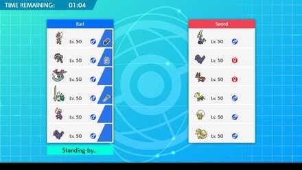 Lựa chọn đội hình tham gia đấu xếp hạng Pokemon Sword and Shield