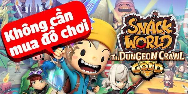 Snack World nintendo switch không đồ chơi