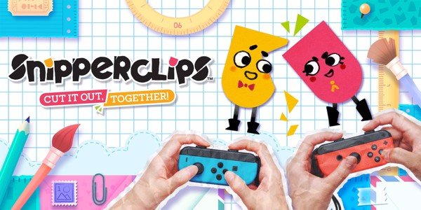 SNIPPERCLIPS Game vui cho Nintendo Switch