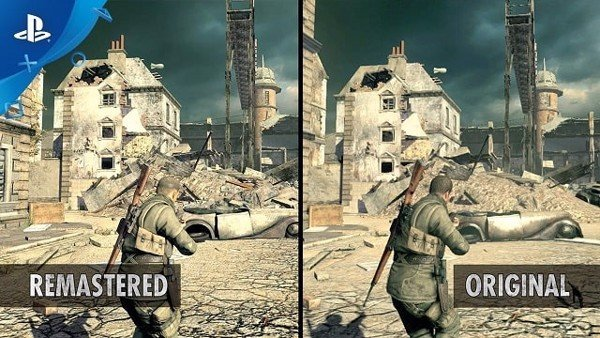 so sanh do hoa Sniper Elite V2 Remastered
