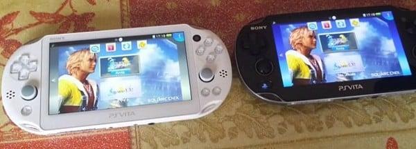 so sánh PS Vita 1000 và 2000 về màn hình