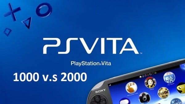 so sánh PS Vita 1000 và 2000