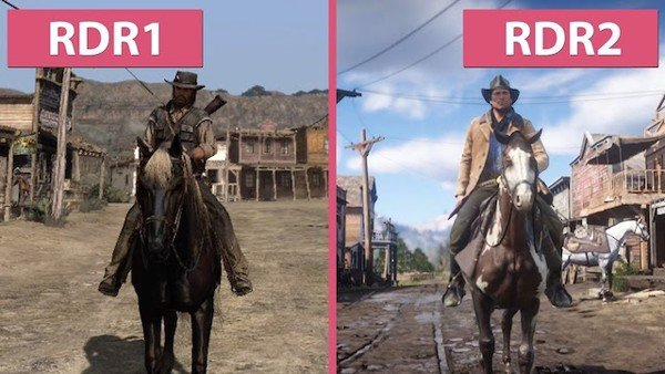 So sánh Red Dead Redemption và Red Dead Redemption 2