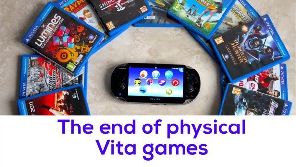 Sony ngừng ra mắt game PS Vita