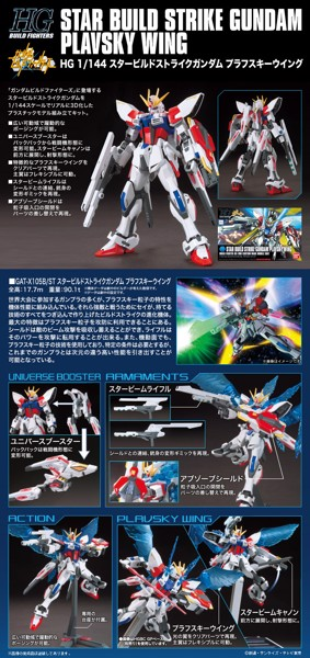 STAR BUILD STRIKE GUNDAM PLAVSKY WING HGBF  1144 nshop vietnam