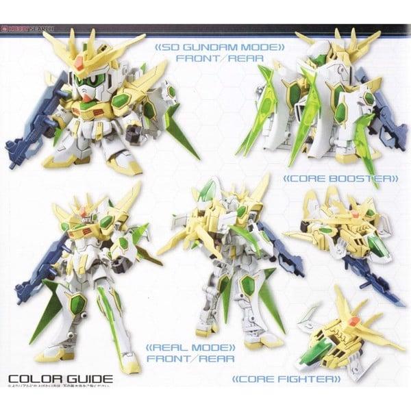 Star Winning Gundam - Mô hình SD Gundam biến hình thành HG