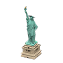 Statue of Liberty trong Animal Crossing New Horizons