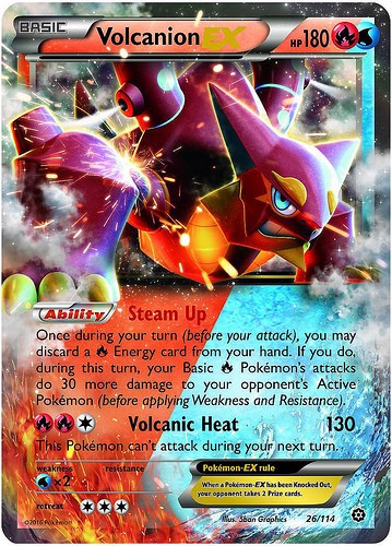 STEAM SIEGE BOOSTER PACK POKEMON TRADING CARD GAME  XY