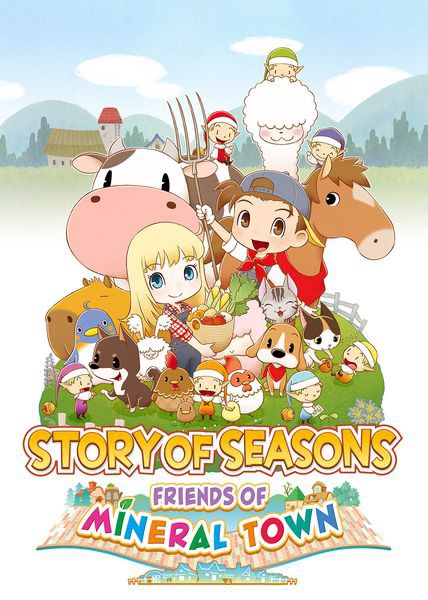 Story of Seasons Friends of Mineral Town tiếng anh 2020
