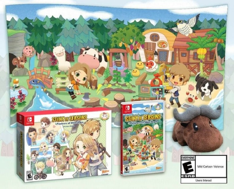 Story of Seasons Pioneers Of Olive Town nintendo switch preorder