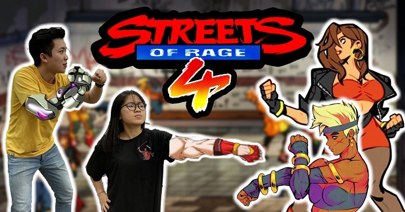streets of rage 4 nintendo switch ps4 xbox pc vlog