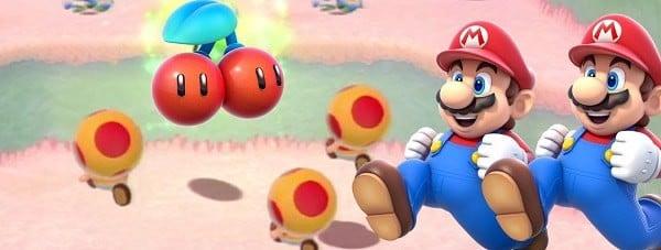 Super Mario 3D World  cherry double