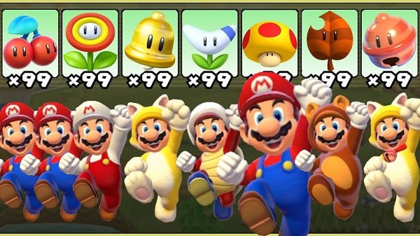 Super Mario 3D World Bowsers Fury Nintendo Switch power up