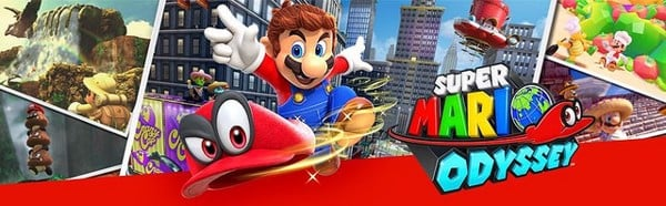 game Super Mario Odyssey cho Nintendo Switch