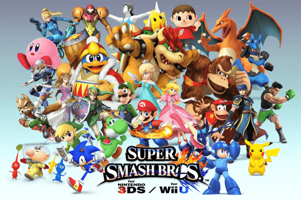 SUPER SMASH BROS 3DS nshop