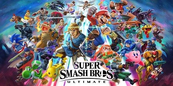 Super Smash Bros Ultimate Game đánh lộn nhiều người chơi