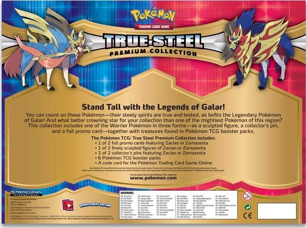 sưu tập bài Pokemon True Steel Premium Collection real