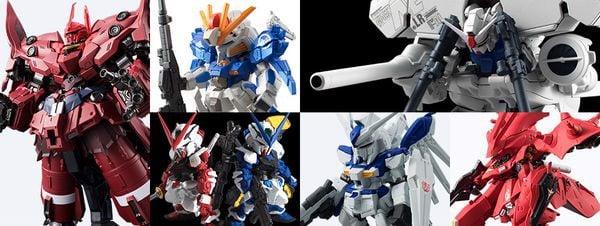 sưu tập figure FW Gundam Converge