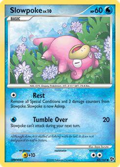 sưu tập Thẻ Pokemon Slowpoke