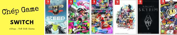tải game Nintendo Switch dịch vụ nShop