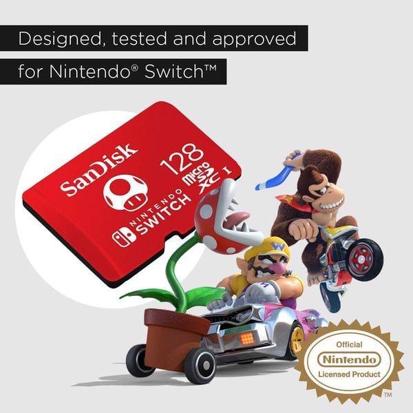 tải game thẻ nhớ SanDisk MicroSDXC UHS-I 128GB Nintendo Switch