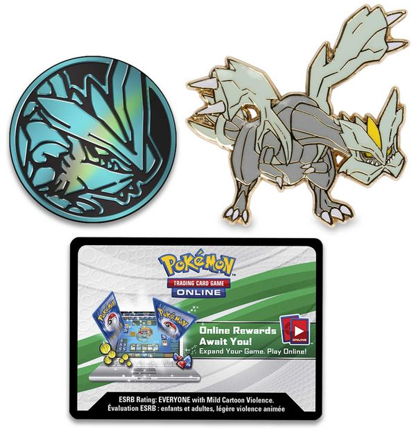 quà tặng bài Pokemon Dragon Majesty Legends of Unova GX Premium Collection