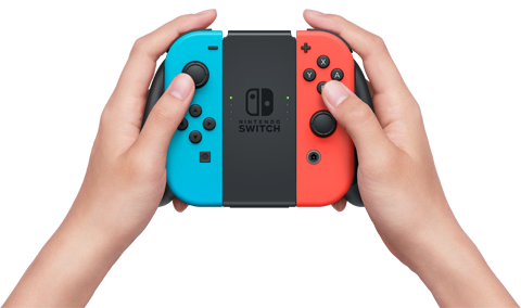 tay cầm Joy-Con Charging Grip cho Nintendo Switch