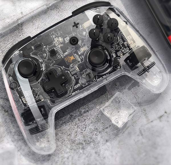 Tay cầm Pro Controller trong suốt IINE PMW Nintendo Switch không dây