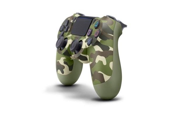 Tay PS4 xanh bộ đội