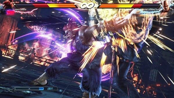 Thiết Quyền Tekken Game đối kháng song đấu