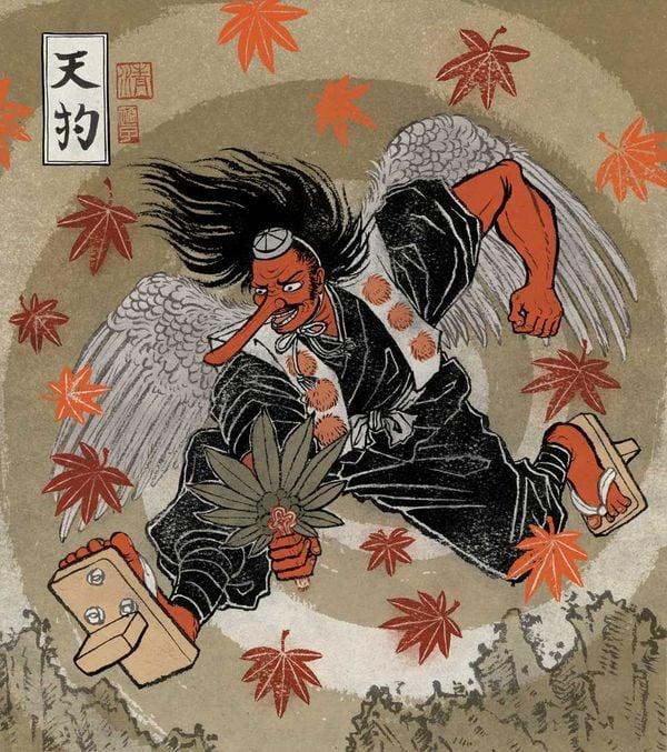 tengu thiên cẩu Nhật Bản
