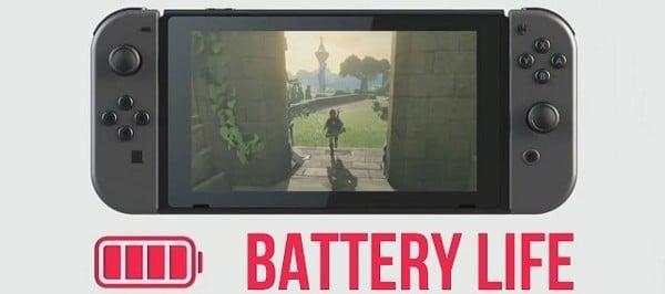 test pin máy Nintendo Switch