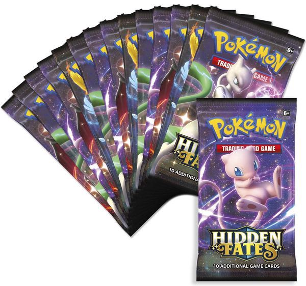 Thẻ bài Pokemon Hidden Fates Ultra Premium Collection real
