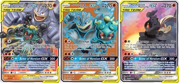 Thẻ bài Pokemon Marshadow & Machamp-GX