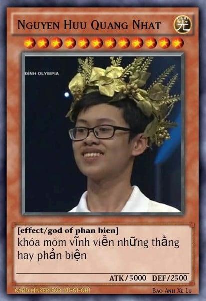 Thẻ bài Yugioh chế Olympic Dota2VN