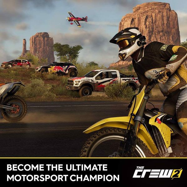 The Crew 2 cho PS4 nShop