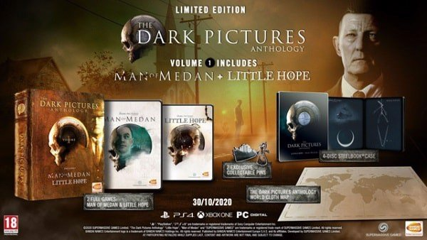 The Dark Pictures Anthology Little Hope collector