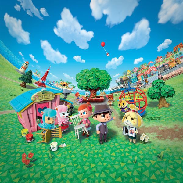 thế giới trong game Animal Crossing