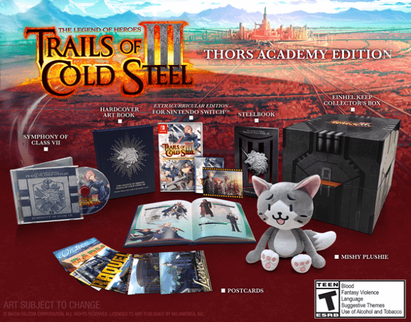 The Legend of Heroes Trails of Cold Steel III Thors Academy Edition
