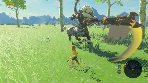 The Legend of Zelda Breath of the Wild Master Mode White-Maned Lynel