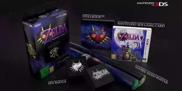 The Legend Of Zelda Majora's Mask 3D Limited Edition