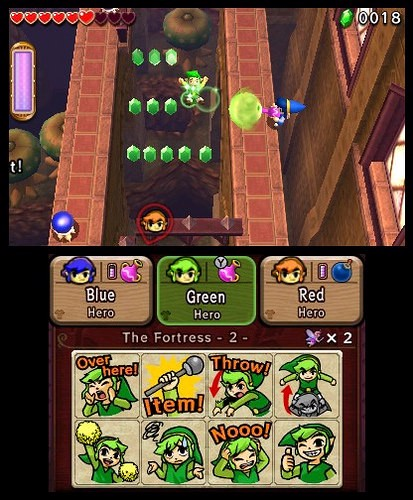 THE LEGEND OF ZELDA TRI FORCE HEROES shop