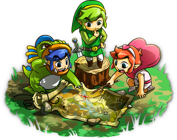THE LEGEND OF ZELDA TRI FORCE HEROES shop vietnam