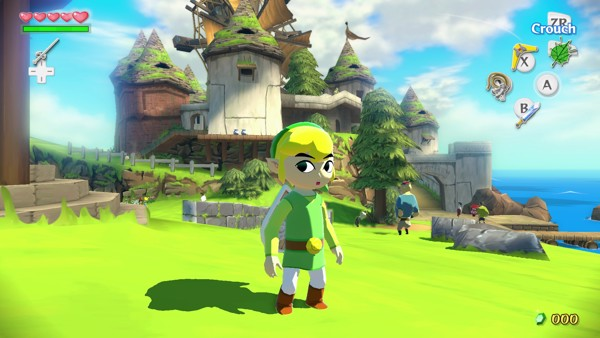 THE LEGEND OF ZELDA WIND WAKER HD shop