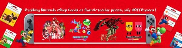 Thẻ nạp tiền eShop dành cho Nintendo Switch