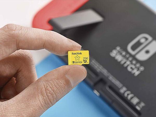 Thẻ nhớ SanDisk MicroSDXC UHS-I 256GB Nintendo Switch chính hãng
